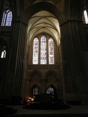 Cathédrale Notre-Dame -  Intérieur de la cathédrale Notre-Dame de Coutances (50).