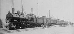Ancienne gare maritime -  French R.R. Train - Cherbourg
