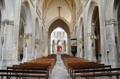 Eglise de la Trinité - Français:   Église de la Trinité, Falaise (Calvados, 14)