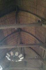 Eglise Sainte-Catherine - Italiano:  Tetto della chiesa di Santa Caterina  a Honfleur con il soffitto-volta costituito da un immenso drakkar rovesciato