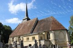 Eglise - Français:   Église Saint-Jen-Baptiste de Manerbe 2020 1
