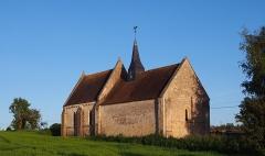 Eglise d'Aizy - Français:   Soumont-Saint-Quentin (Normandie, France). L\'église d\'Aizy.