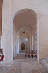 Eglise Saint-Vorles - Deutsch:  St-Vorles de Châtillon-s-S, nordwestl. Seitenschiff n. hinten