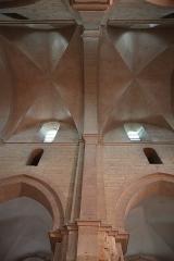 Eglise Saint-Philibert -  Intérieur de l'église Saint-Philibert à Dijon (21).