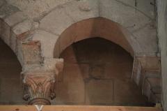 Eglise Saint-Philibert -  Intérieur de l'église Saint-Philibert à Dijon (21). Chapiteau.