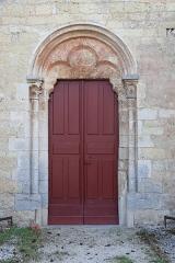 Eglise de la Nativité - Français:   Église de la Nativité de Mirebeau-sur-Bèze (21). Extérieur. Portail septentrional.