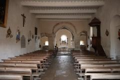 Eglise Saint-Martin - Français:   Intérieur de l\'église Saint-Martin de La Motte-Ternant (21).