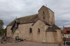 Eglise Saint-Martin - Français:   Extérieur de l\'église Saint-Martin de La Motte-Ternant (21).