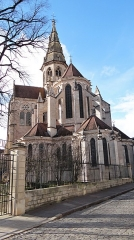 Eglise (collégiale) Notre-Dame - Français:   Collégiale Notre-Dame de Semur-en-Auxois, abside