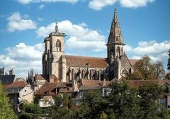 Eglise (collégiale) Notre-Dame - Français:   Collégiale Notre-Dame de Semur-en-Auxois