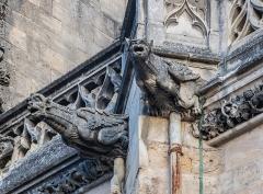 Cathédrale Saint-Cyr et Sainte-Julitte - English:  Gargoyles of the Saints Quiricus and Julietta cathedral in Nevers, Nièvre, France