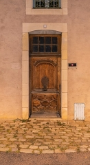 Immeuble - English:  Portal of the building at 3 quai des Mariniers in Nevers, Nièvre, France