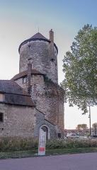 Tour de Cuffy dite tour Goguin - English:  Tour Goguin in Nevers, Nièvre, France