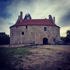 Château de Meauce - Français:   Château de Meauce (Nièvre, France).