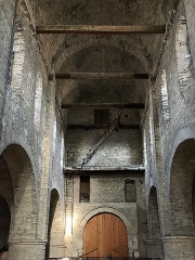 Ancienne abbaye Saint-Philibert - Français:   Abbatiale Saint-Philibert de Tournus (Saône-et-Loire, Bourgogne-Franche-Comté), chapelle Saint-Michel.