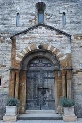 Eglise Saint-Valérien - Français:   Extérieur de l\'église Saint-Valérien de Tournus (71).