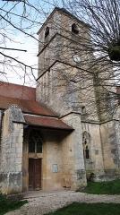 Eglise Notre-Dame -  Église Notre-Dame de Joux-la-Ville, Yonne, février 2020