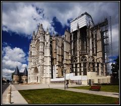 Cathédrale Saint-Pierre - Français:   Beauvais, Cathédrale Saint Pierre. Extérieur.