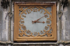 Hôtel de ville - Français:   Horloge de l\'hôtel de ville de Compiègne