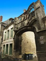 Maison - English:  Gate of Bouvelle Court in Laon, France, Rue Serurier. Photo taken in 2019 (Porte de la Cour de la Bouvelle)