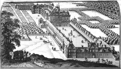 Château de Noue - Français:   issu de \