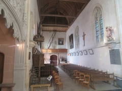 Eglise Saint-Jacques-le-Majeur et Saint-Jean-Baptiste - Français:   Église Saint-Jacques-le-Majeur-et-Saint-Jean-Baptiste de Folleville située à Folleville (80). Journées Européennes du Patrimoine 2020.