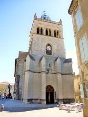 Ancienne cathédrale, actuellement Eglise Notre-Dame - Français:   Cathédrale de Die