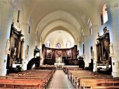 Ancienne cathédrale, actuellement Eglise Notre-Dame - Français:   Nef de la cathédrale