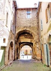 Porte Saint-Marcel - Français:   Porte Saint-Marcel, vue de l\'intérieur de la cité