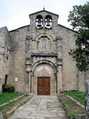 Eglise Sainte-Agnès -  église du prieuré Sainte-Agnés de la Motte de Galaure dans la Drôme
