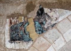 Chapelle de Chevènes - Français:   Chapelle de Chevènes Denicé fresques détail 2
