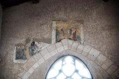Chapelle de Chevènes - Français:   Chapelle de Chevènes Denicé fresques