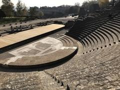 Site archéologique de Fourvière - Français:   Site archéologique de Fourvière (Théâtre antique de Lyon)