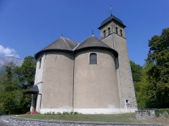 Eglise - English:  Sight of Chamousset church, in Savoie, France.