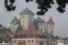 Château - English:  Castle of Annecy, Haute-Savoie, France