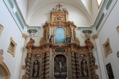 Eglise Saint-François - English:  Altar, Eglise Saint-François, Annecy