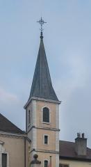 Eglise Saint-François - Français:   Bell tower of the Saint Francis de Sales church in Annecy, Haute-Savoie, France
