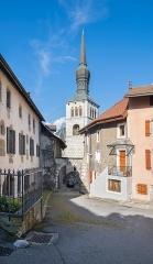 Eglise - English:  Saint John the Baptist church in La Roche-sur-Foron, Haute-Savoie, France