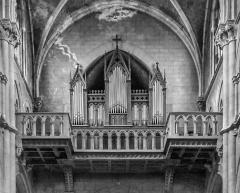 Eglise Saint-Hippolyte - English:   Pipe organs the Saint Hippolytus church in Thonon-les-Bains, Haute-Savoie, France