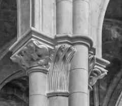 Eglise Saint-Hippolyte - English:   Capital in the Saint Hippolytus church in Thonon-les-Bains, Haute-Savoie, France