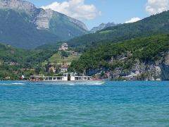 Château de Menthon -  Boat @ Compagnie des Bateaux du Lac d'Annecy @ Lake Annecy @ Saint-Jorioz