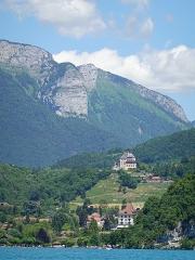 Château de Menthon -  Château de Menthon-Saint-Bernard @ Lake Annecy @ Saint-Jorioz