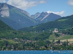 Château de Menthon -  Col de Bluffy @ Lake Annecy @ Saint-Jorioz