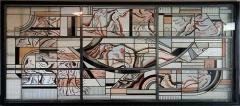 Immeuble - Français:   Histoire de Psychée, vitrail dans l\'atelier Louis Barillet à Paris