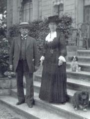 Domaine de Vert-Mont -  Edward Tuck et Julia Stell