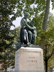Statue de Bichat - English:  Statue de Xavier Bichat, Bourg-en-Bresse
