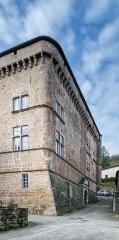 Château de Saint-Beauzély, actuellement musée d'art et de tradition populaire - English:  Castle of Saint-Beauzély, Aveyron, France