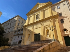 Eglise Saint-Charles - Corsu:  Chjesa San Carlu, in Bastia