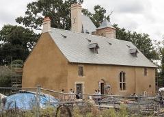 Manoir du Boberil -  Le manoir du Boberil à L'Hermitage en restauration lors des Journées européennes du patrimoine 2020.