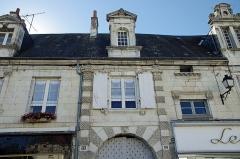 Hôtel dit des Rois ou d'Henri III -   Châtillon-sur-Indre (Indre)  La Maison des Rois.